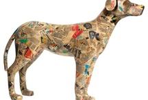 hond papier mache