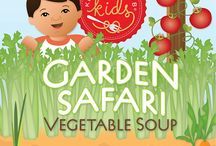 Garden Safari Vegetable Soup / Colorful vegetables never looked so good!