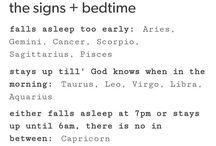 Signs / I'm a Capricorn. ^-^