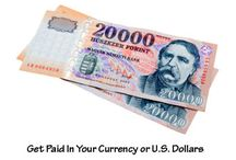 Get Paid in Your valuta vagy US Dollar