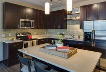 Condo Quality In-Home Finishes / Get a closer look at our urban design, upscale finishes, and variety of home sizes.