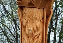 namety woodcarving - strom