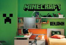 Minecraft inspiration na pokojík