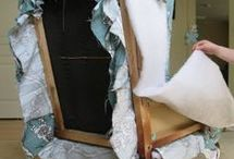 re-upholster a chair