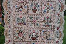 Quilts -- Applique