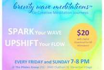 NOW with Brevity Wave Meditations / Stay present with BREVITY WAVE MEDITATIONS Upcoming Events, Online Programs, Videos, Chats, LaVa Gifts and more!