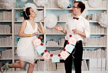 Book/Library Wedding Theme