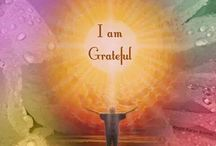 Gratitude / Being thankful of all
