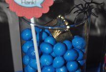 Fiesta Spiderman - Spiderman party
