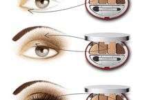 Apply eyeshadows