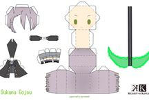 papercraft / Paper Craft Sukuna Gojou for K: Return of Kings/ by me.
