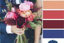 wedding colour pallet