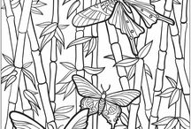 Art: Printables: Colouring Pages / by Kristine Bannerman