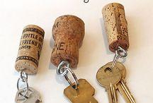 Portachiavi tappi champagne / Portachiavi tappi