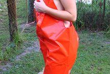 Oransje Regntøy