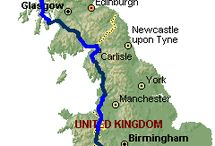 Cycling Lands end to John O'Groats