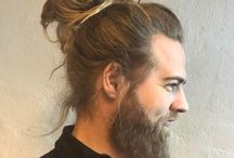 Man Bun Styles / For guys with medium to long hair, check out these cool man bun styles. There's not just one way to get the look! #menshair2017 #longhairmen #popularhairstylesformen #manbun #manbunundercut #manbunstyles