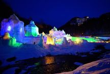 "How to Enjoy Hokkaido in Winter! Let's Go to the ""Soun-kyo Onsen Ice Waterfall Festival""!"