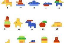 Ideen für Duplo - und Legomaterial