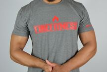 Fitted 'Flare' Grey T-shirt