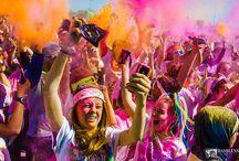 Run or Dye / Photos from shooting the Run or Dye Event