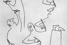 Saul steinberg / Art work