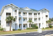 Buck Creek at Aberdeen Country Club / Located at one of the most beautiful golf course communities, and just a short drive to the beach, these one and two bedroom units are quite a treat. They are newly decorated and equipped, and the property has several pools as well as a tennis court.