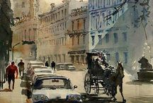 The Street Illustration