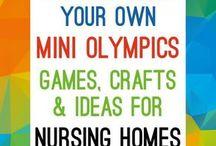 mini olympics elderly
