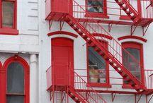 NY fire escapes
