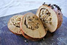 Veggie Thanksgiving / Vegan and Vegetarian Thanksgiving Menu and Recipes
