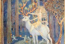 Fairy Tales / fairy tale illustrations / by rebecca garden