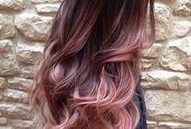 Ombre Haare Pink