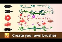 create your own brushes on illustrator