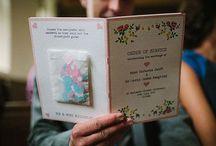 Programmi cerimonia originali - Wedding program / Una raccolta di idee originali per personalizzare il programma della cerimonia nuziale.