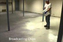 Videos - Decorative Concrete & Epoxy / Decorative concrete resurfacing & epoxy videos. . . pictures are great but videos are better!