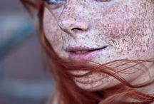 Freckled faces