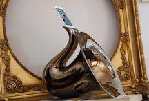 Saxo-phone / Amplificatore passivo in ceramica smaltata per iphone/ipod