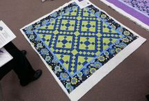 Appletree Quilting University 100 / With our Appletree Quilting University 100,  we use the traditional Jacob's Ladder pattern.  See the various tops by our students!