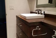 Bathroom vanities by a karen black company / Current bathroom vanities