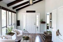 angled walls