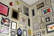 Quadros na parede / by Jackie Monteiro