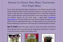 Reasons To Choose Three-Phase  Transformer Over Single-Phase
