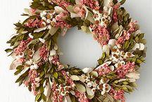 Krásné věnce - Lovely wreaths