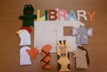 Library - flannel/felt board ideas