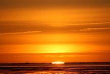Sonnenuntergang♥ / Sommer auf der Insel Amrum