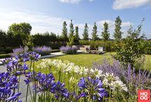 Hoog.design | Tuinen / Kenmerkend aan de tuin, is dat het een weerspiegeling geeft van uw eigen identiteit. Laat de tuin een weerspiegeling geven van uw eigen identiteit. Maak er een plek van waar u zich thuis voelt maar waar u ook weer de energie vindt voor het dagelijkse leven. Een luxe tuin die geheel doet aan uw wensen en de elementen bevat die u gelukkig maakt, geheel in harmonie met het woonhuis. Ontdek aan de hand van tuinontwerpen voorbeelden welke elementen op uw smaak aansluiten en welke stijl u aanspreekt.