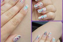 Nails <3 / Nail designs I have made.