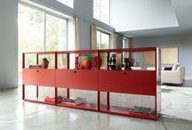 Loft / Impressive furniture for lofts and room dividers