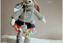 Tilda / crochet,  sewing, tilda